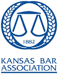 Logo Recognizing Castle Law Office's affiliation with the Kansas Bar Association